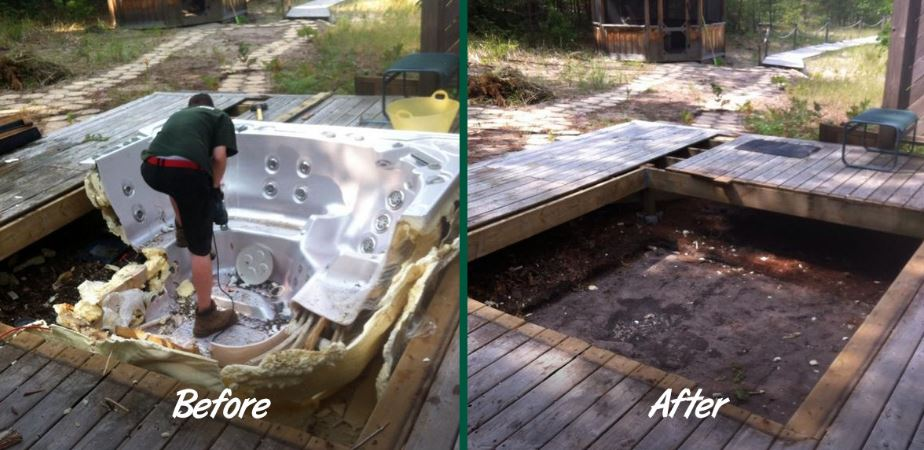 hot tub removal phoenix